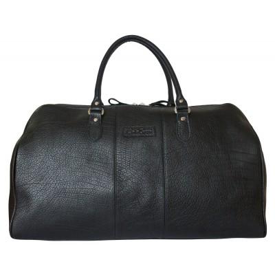 Дорожная сумка из кожи Carlo Gattini Campelli black (арт. 4014-81)
