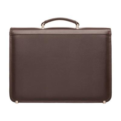Кожаный портфель мужской Lakestone Reedley Brown