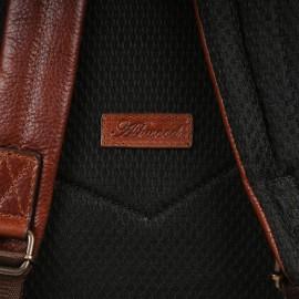 Мужской рюкзак из натуральной кожи Ashwood Leather James Chestnut