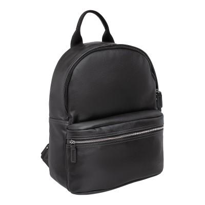 Кожаный рюкзак мужской Lakestone Keppel Black