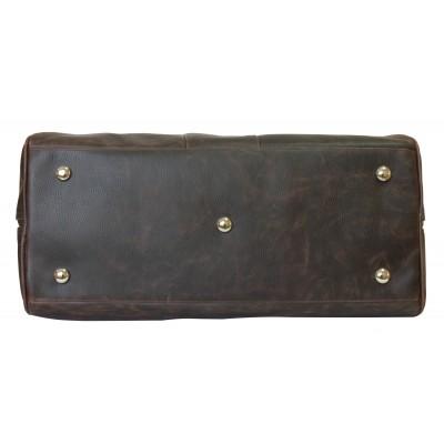 Кожаная дорожная сумка Carlo Gattini Normanno brown (арт. 4007-02)