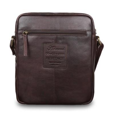 Сумка через плечо из натуральной кожи Ashwood Leather 1333 Brown
