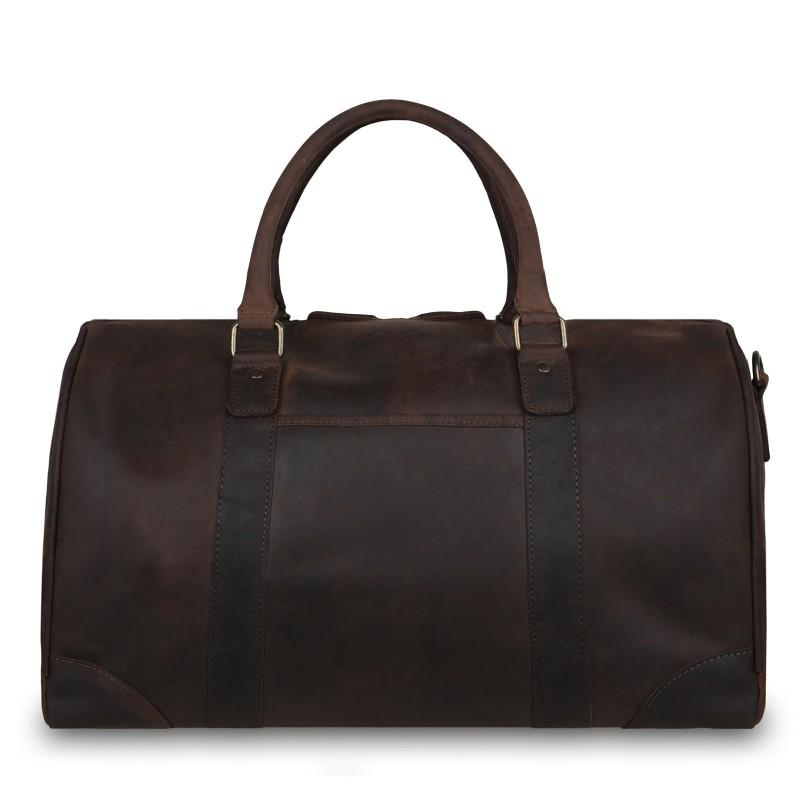 Дорожная сумка Ashwood Leather Jayden Brown