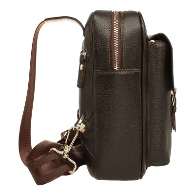 Кожаный рюкзак мужской Dante Brown