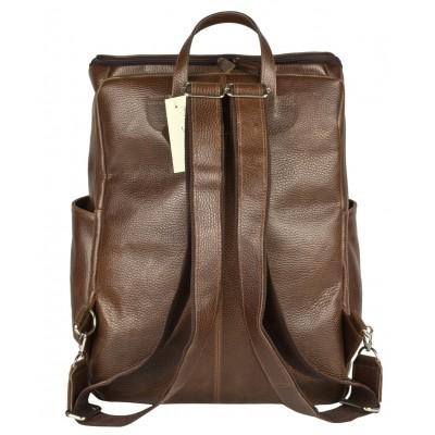 Мужской рюкзак из натуральной кожи Carlo Gattini Tornato brown (арт. 3076-94)