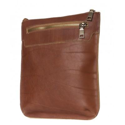 Кожаная мужская сумка через плечо  Saltara cognac (арт. 5021-03)