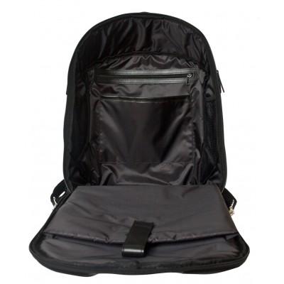 Кожаный рюкзак мужской  Carlo Gattini Solferino black (арт. 3068-01)