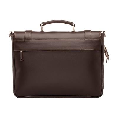 Кожаный портфель мужской Lakestone Belmont Brown