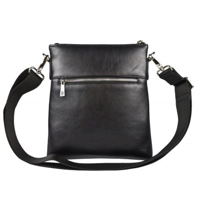 Кожаная мужская сумка через плечо Carlo Gattini Corneto black (арт. 5047-01)