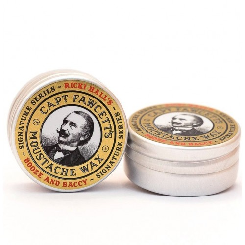 Captain Fawcett Ricki Hall Booze & Baccy Moustache Wax - Воск для усов 15 мл