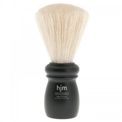Hjm - Помазок профессиональный, щетина кабана, черный бук, размер Xl