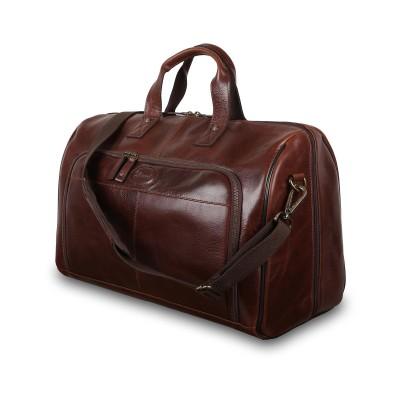 Дорожная сумка Ashwood Leather 8150 Brown