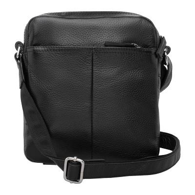 Мужская сумка через плечо Webbs Black