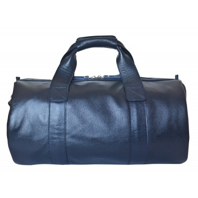 Кожаная дорожная сумка Carlo Gattini Dossolo dark blue (арт. 4017-19)