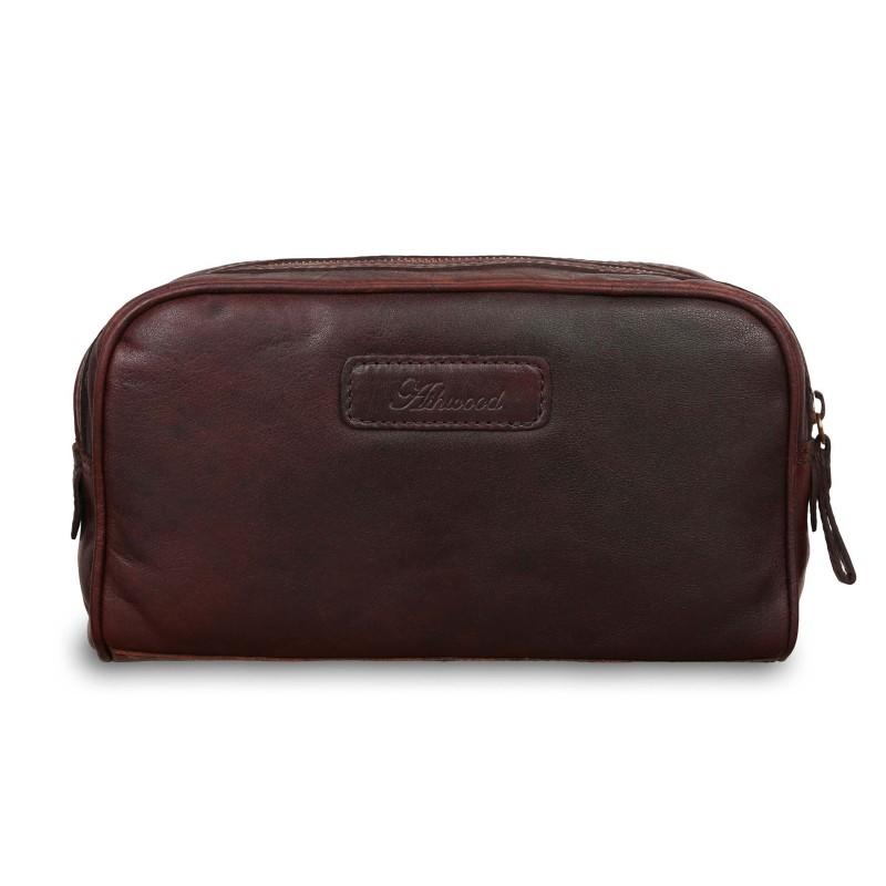Несессер Ashwood Leather G-37 Brandy