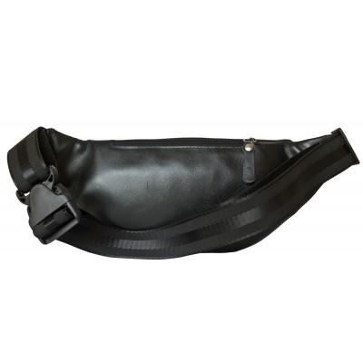 Кожаная поясная сумка Carlo Gattini Atessa black (арт. 7009-01)