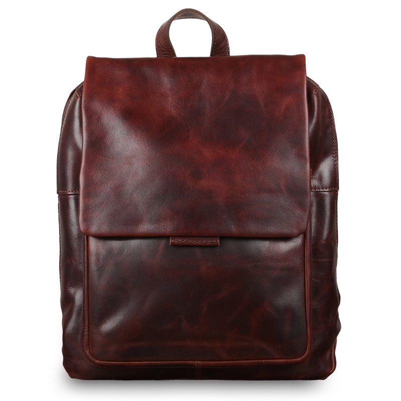 Мужской рюкзак из натуральной кожи Ashwood Leather Fred Vintage Tan