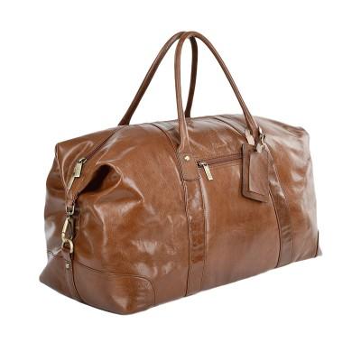 Дорожная сумка Ashwood Leather Lewis Chestnut Brown