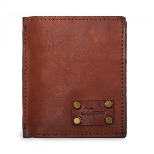 Бумажник Ashwood Leather 1779 Rust