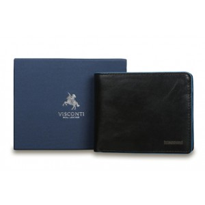 Бумажник  Visconti ALP85 Ozwald Black