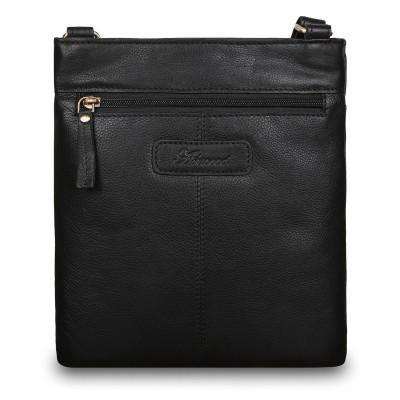 Сумка через плечо из натуральной кожи Ashwood Leather M-67 Black