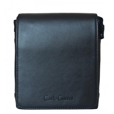 Мужская сумка через плечо Carlo Gattini Damboli black (арт. 5046-01)
