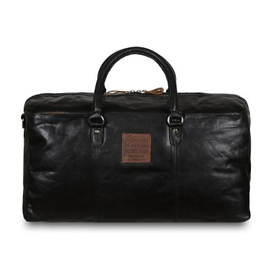 Дорожная сумка Ashwood Leather F-87 Black