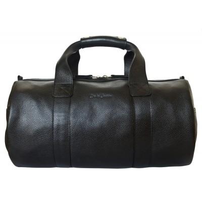 Кожаная дорожная сумка Carlo Gattini Dossolo black (арт. 4017-01)