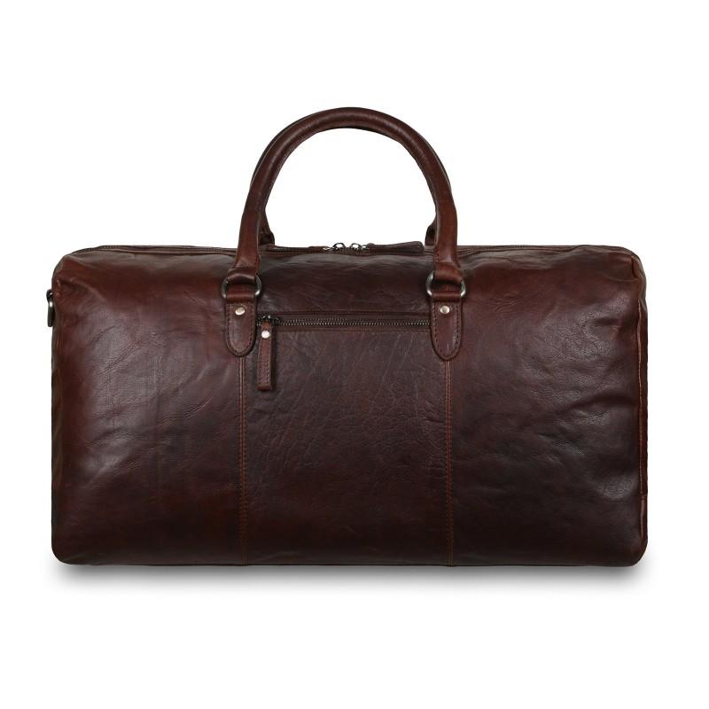 Дорожная сумка Ashwood Leather F-87 Brandy