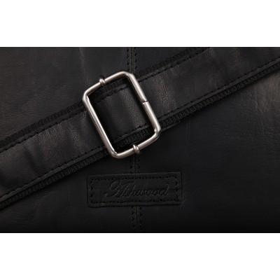 Сумка через плечо Ashwood Leather 8343 Black