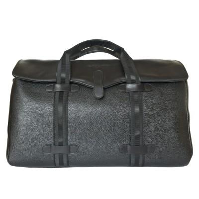 Кожаная дорожная сумка Carlo Gattini Mondragone black (арт. 4027-01)