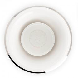 Muehle - Чаша для бритья, белый фарфор, платиновый обод