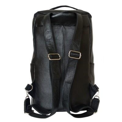 Мужской рюкзак из натуральной кожи Carlo Gattini Verdello black (арт. 3054-01)