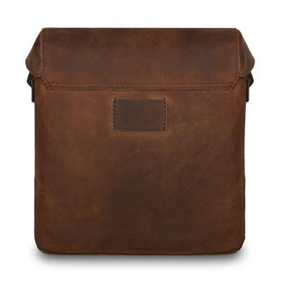 Кожаная мужская сумка через плечо Ashwood Leather  Monti Tan