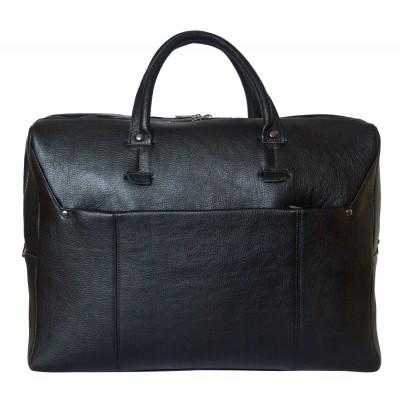 Мужская сумка из натуральной кожи Carlo Gattini Vattaro black (арт. 4023-01)