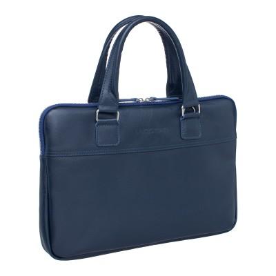 Мужская сумка из натуральной кожи Anson Dark Blue