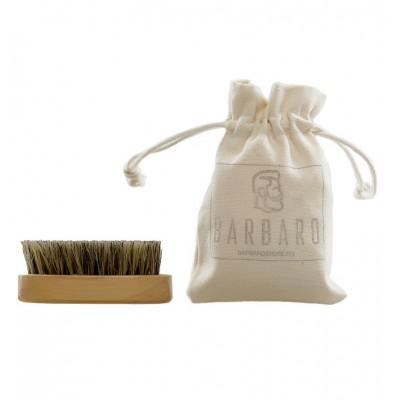 Barbaro Beard Brush - Щетка для бороды в льняном мешочке