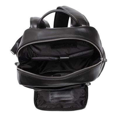 Мужской рюкзак из натуральной кожи Lakestone Seddon Black