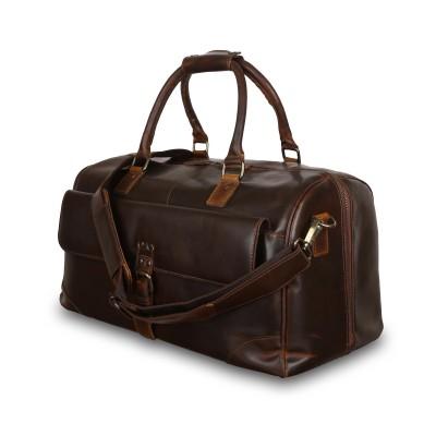 Дорожная сумка Ashwood Leather Lyndon Copper Brown