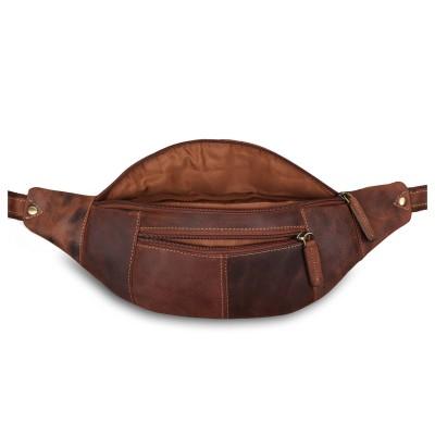 Поясная сумка Visconti Bumbag Large 721 Oil Tan