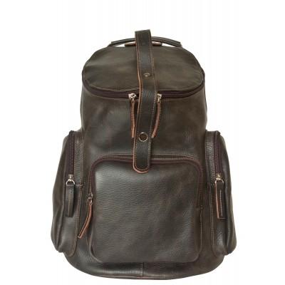 Кожаный рюкзак мужской Carlo Gattini Torraca brown (арт. 3073-04)