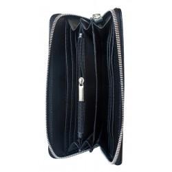 Кожаный кошелек Carlo Gattini Artena black (арт. 7701-91)