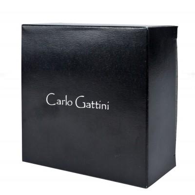 Кожаный мужской ремень Carlo Gattini Renaro black (арт. 9009-01)