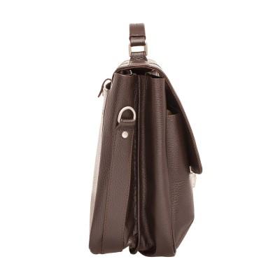 Кожаный портфель мужской Lakestone Emerson Brown