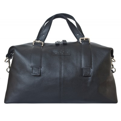 Кожаная дорожная сумка Carlo Gattini Ardenno black (арт. 4013-01)