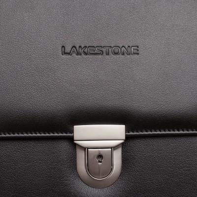 Кожаный портфель мужской Gilbert Black