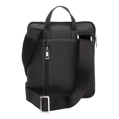 Кожаная мужская сумка через плечо Mariston Black