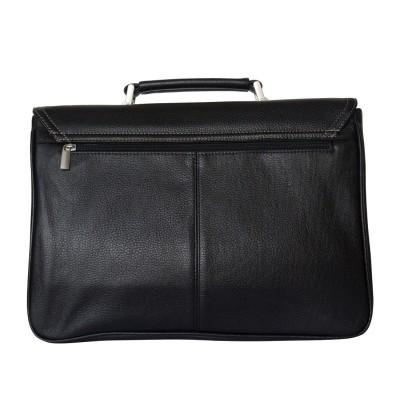 Кожаный портфель мужской Altori black (арт. 2010-01)