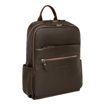 Мужской рюкзак из натуральной кожи Lakestone Goslet Brown