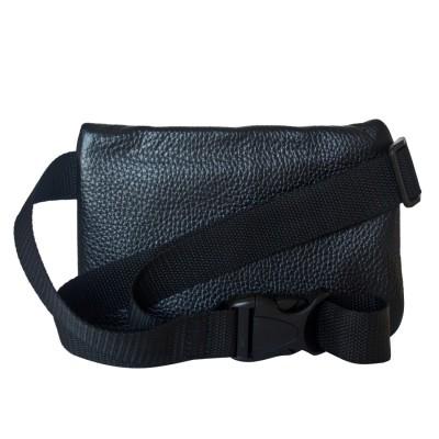 Кожаная поясная сумка Carlo Gattini Roana black (арт. 7007-01)